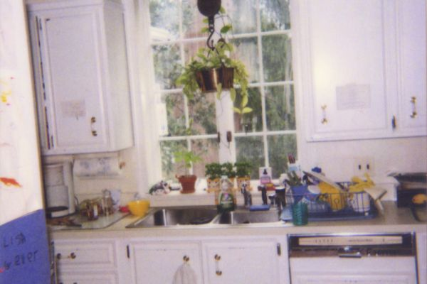 BEFORE - KITCHEN WINDOW